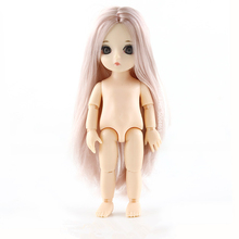 Bébé poupées bébé poupées mobiles BJD, corps nu, 15cm, jouet poupées à la mode Figma pour filles, cadeau 1/8
