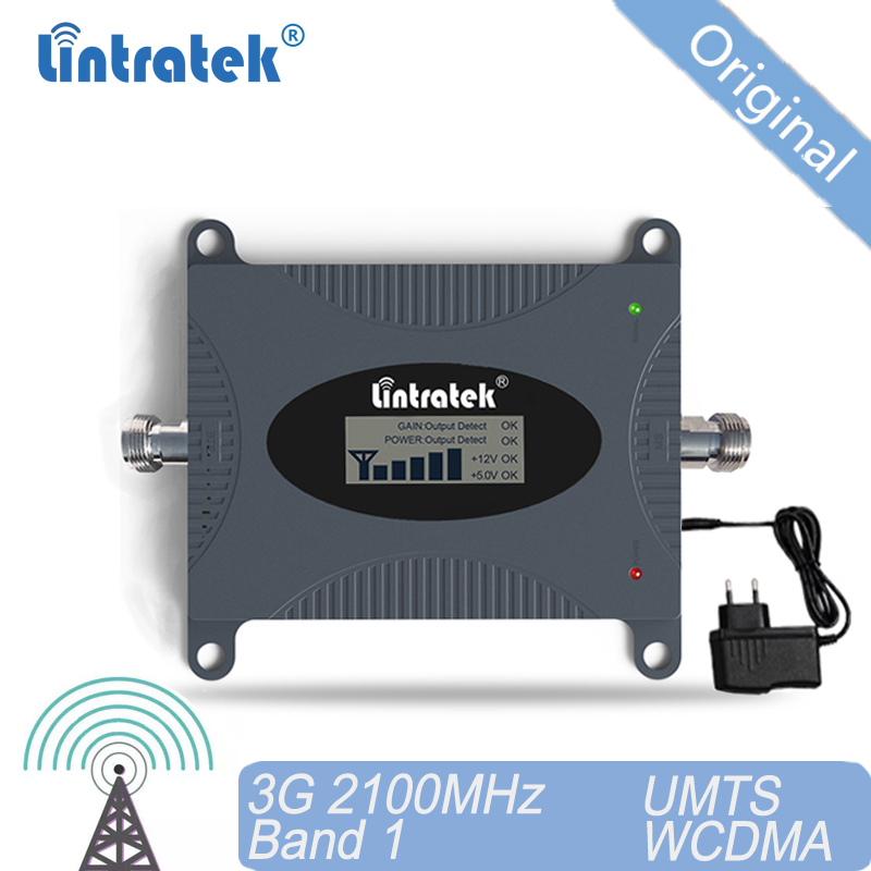 3G 2100 MHz Signal Booster UMTS Amplificador 3G WCDMA Booster Mobile Phone Band 1 Signal Amplifier Repeater For RU UKR 40