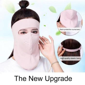 Protective mask Summer Unisex Outdoor Cycling Windproof UV Protection Neck Cover Full Face Mask Anti flu Anti Virus Mask