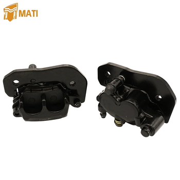 Front Left Right Brake Caliper for Can Am Outlander Renegade 450 500 570 650 800R 850 1000 1000R with Pads 705600862 705600861 left right with pads trim front brake caliper set tool useful atv mounting accessories metal auto car for yamaha banshee bear