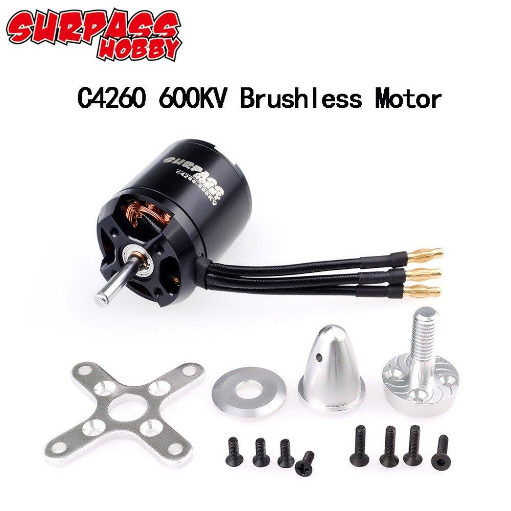 5 S elektrosegler Planeur 3d Brushlessmotor 4260 c4260 600 KV 1500 W 75 a 2 B