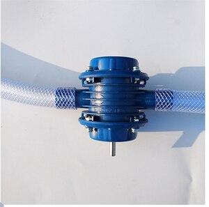 Image 3 - ヘビーデューティ自吸式手電気ドリル水ポンプ家庭菜園遠心転送ライト液体堅牢なプラスチックボディ