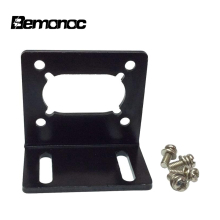 цена на Bemonoc DC Gear Motor Install Bracket for Electric DC Worm Gear Box Geared Reducer Bracket Mounting Accessories