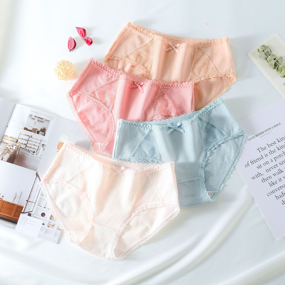Sexy Briefs Women Cotton Panties Fashion Underwear Underpants Female Lingerie Briefs Ladies Panties ropa interior femenina