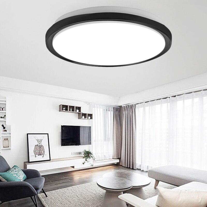 Super Bright Led Ceiling Lights 220V Surface Mounted Led Ceiling Lighting 16W 22W Modern Ceiling Lamps For Living Room Bedroom