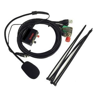 Image 1 - Walkie talkie fahrzeug freisprecheinrichtung Mikrofon für YAESU für FT 1802/1902/2800/7800/7900R/8900R Auto Sets 6 kern 12mb Kristall Kopf