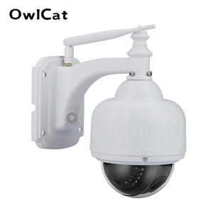 Image 1 - OwlCat SONY CMOS Wifi Dome IP Camera x5 Optical Zoom Outdoor Waterproof Wireless IR PTZ CCTV HD 2MP 5MP Microphone Memory slot