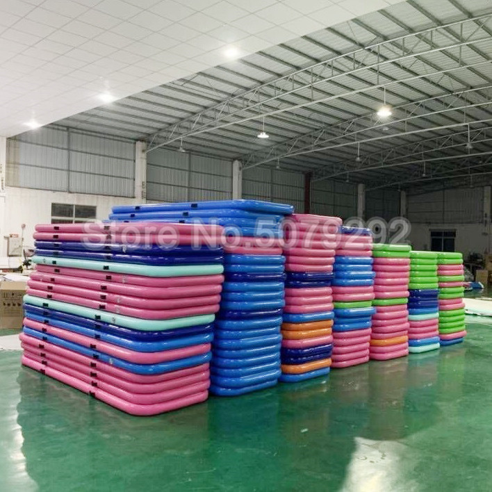 Big Discount Inflatable Air Track Top Quality 3*1*0.1m Air Track Mat Mini Air Track With Pump DWF Air Track Gymnastics Cheap