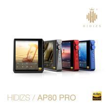 Hidizs AP80PRO HiFi 듀얼 ESS9218 MP3 블루투스 음악 플레이어 터치 스크린 휴대용 FLAC LDAC USB DAC DSD 64/128 FM 라디오 DAP