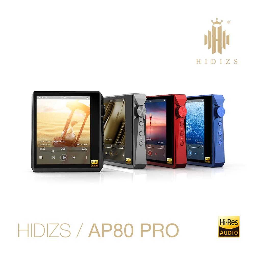 Hi-Fi плеер Hidizs AP80PRO, музыкальный MP3-плеер с поддержкой Bluetooth, с сенсорным экраном, портативный музыкальный плеер FLAC LDAC USB DAC DSD 64/128 FM-радио DAP