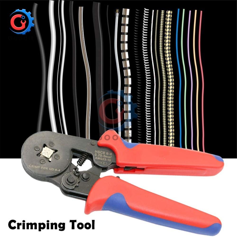 Self Adjustable Wire Crimper Crimping Tool Stripper Plier Cutter+500 Connectors