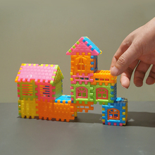 Assembled Building-Toys House Puzzle 3D Fun 44pcs/Lot Stereoscopic-Assembly Can-Be-Opened