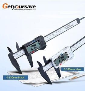 Micrometer Digital Ruler Measuring-Tool Vernier-Caliper 150mm Electronic 6inch 1mm