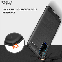 For Honor V30 Pro Case Luxury Brush Style Armor Soft Rubber TPU Phone Case For Honor V30 Pro Back Cover For Huawei Honor V30 Pro 2 1mm thick luxury bumper case for huawei honor v30 germany bayer material case honor v30 pro independent plating button cover