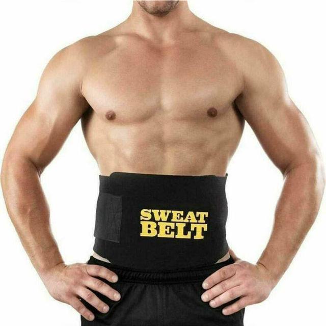 Hot Belt Men Sweat Shaper Body Neoprene Sport Corset Waist Sauna Women Belly Trainer Indoor activities Shapers Waist Cinchers 3