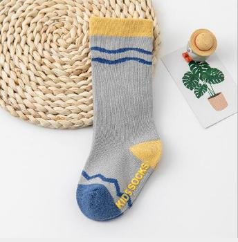 0-3Year 1 Pair Autumn and winter boy girl tube socks new loose mouth three-dimensional infant children's baby cartoon socks - I, 1-3 year