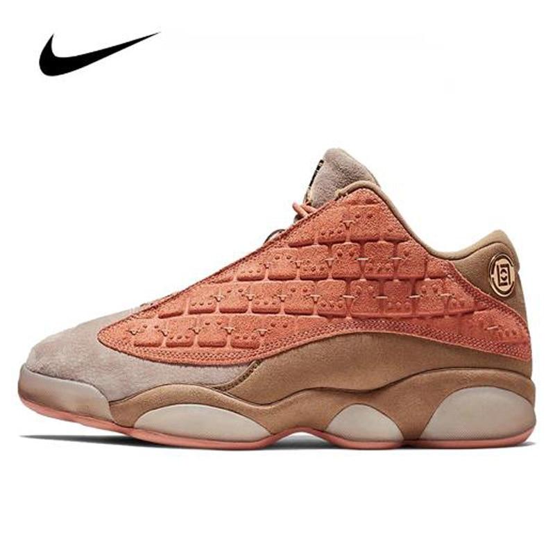 Women Unisex Nike Air Jordan 13 Low Men Jordan Basketball Shoes Cushioning Gym Training Sneakers Boots AT3102-20