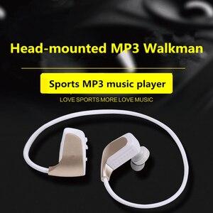 Image 1 - אלחוטי אוזניות MP3 תלמיד ספורט ריצה אלחוטי אוזניות אחד מכונה MP3 לביש Lossless מוסיקה נגן