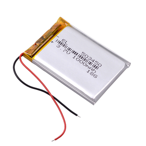 Image 4 - 503450 3.7V 1000mAh Lithium Polymer LiPo Rechargeable Battery li ion cells For Mp4 GPS DVD PAD mirror of the dvr camera recorder