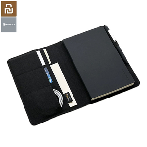Image 1 - Youpin Kaco Noble Paper Notebook PU Leather Cover Multi layer Storage Design A5 Size Equip with Gel Pen for Business School Gift
