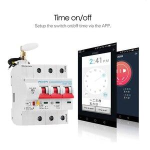 Image 4 - 3P WiFi akıllı devre kesici otomatik anahtarı aşırı yük kısa devre koruması Alexa ve Google ev için akıllı ev