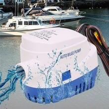 Электрический откачивающий насос погружной автоматический помпа