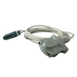 Sensor adulto reusável do silicone spo2 macio para o monitor paciente da sonda do pino spo2 do marqutte 11 de ge