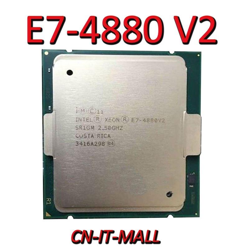 Pulled Xeon E7-4880 V2 Server Cpu 2.5G 37.5M 15Core 30 Thread LGA2011 Processor