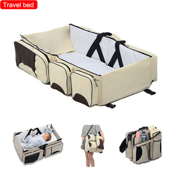 Travel bed bags Baby crib Baby basket Portable Foldable Thermal insulation bag Baby accessories  Baby bed Lightweight baby game bed baby crib portable foldable baby accessories baby bed lightweight portable children s play bed travel bed