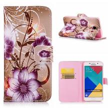 Carteira de Couro do Caso da aleta Para o iphone X 5 5S SE 6 6s 7 8 Plus Capa Para Samsung Galaxy s3 S4 S5 NEO S6 S7 borda S8 Plus S9 A8 2018(China)