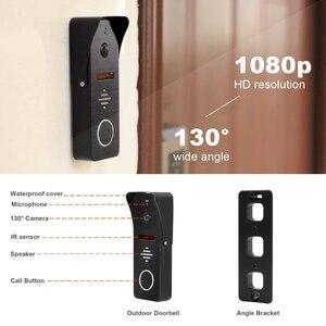 Image 5 - دياغونسفيو واي فاي فيديو إنترفون IP هاتف فيديو لاسلكي للباب نظام الحماية المنزلي 10 بوصة تعمل باللمس 1080P باب الاتصال الداخلي