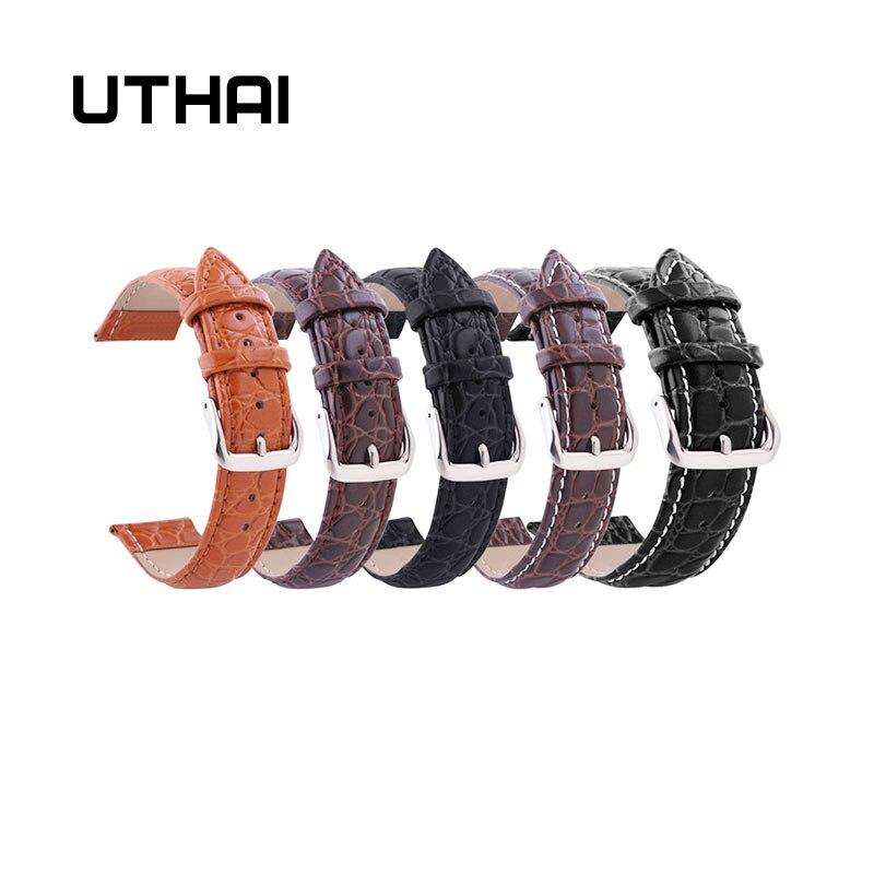 UTHAI P02 22mm Watch Band Genuine 20mm Watch Strap 10-24mm Watch Accessories High Quality 22mm Watch Band Watchbands