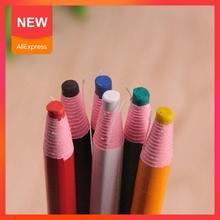 Lápices De cera para pintar tiza pluma marcadora De tela, juego De costura, Lapices para Sastre, Colores, tiza para dibujar De lápiz Q9Y4, 1 Uds.