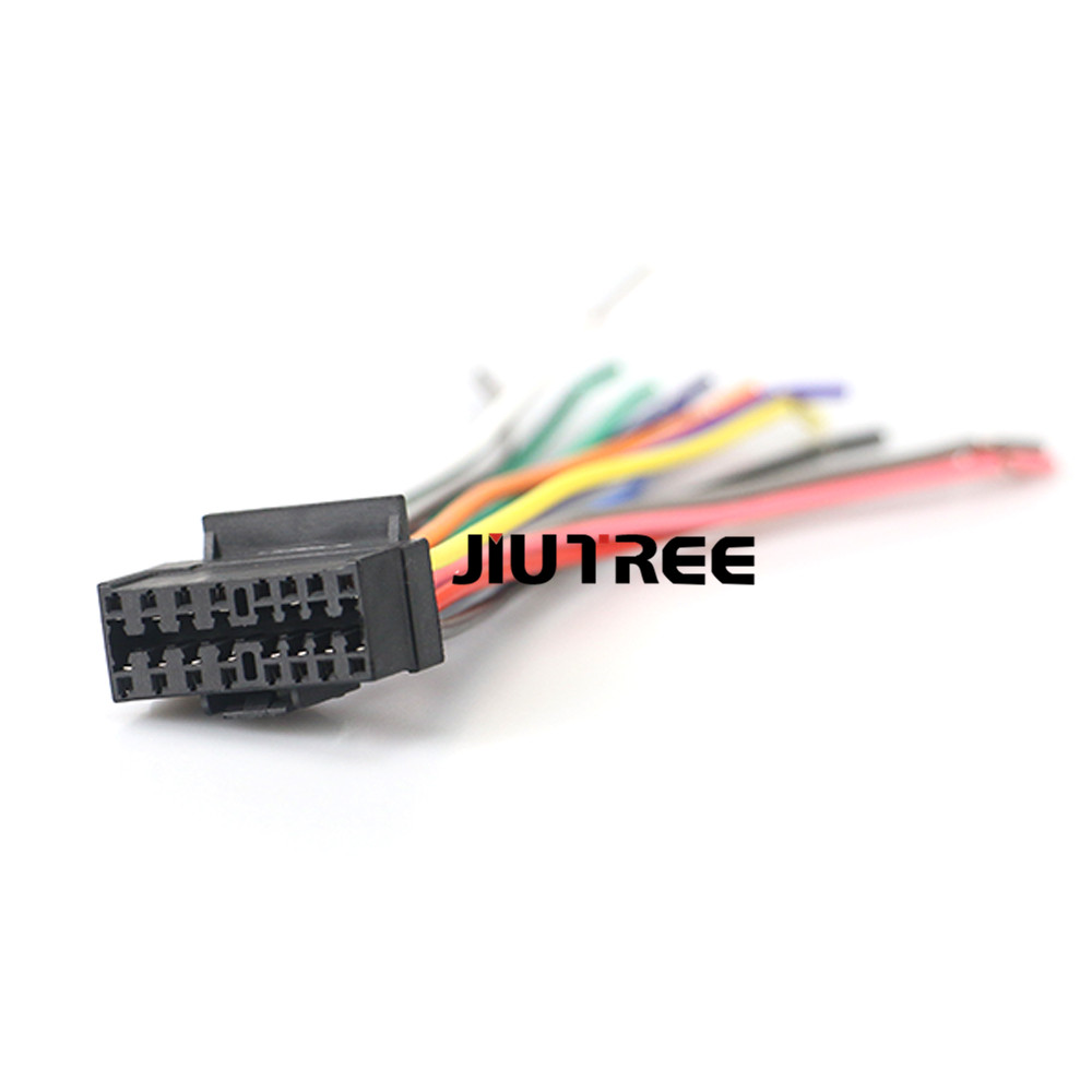 15-009 Car Stereo Radio Wiring Harness Adapter Plug head ... on trailer wiring harness, jvc car stereo gauges, jvc car stereo connectors, car audio wiring harness, jvc kw avx710 manual, jvc kdx 250, jvc car stereo faceplate, jvc wiring harness adapter, jvc kd s28 wiring-diagram, jvc harness diagram, radio wiring harness, jvc car stereo wire colors, pioneer wiring harness, jvc wiring harness color coating, jvc cd receiver manual, jvc car stereo manual, jvc car speaker, painless wiring harness, jvc support,