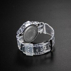 Image 5 - Набор прозрачных часов DW5600/5610/6900, водонепроницаемый резиновый ремешок, спортивный ремешок, Безель