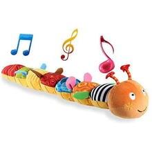 Детские игрушки красочные гусеницы детские crinkle погремушка