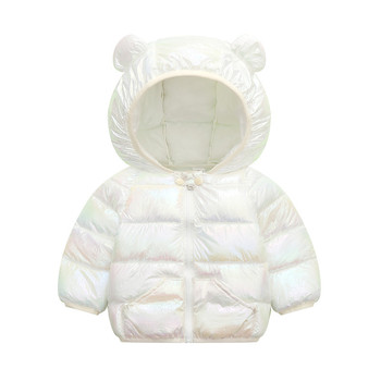 LZH 2020 Autumn Winter Newborn Baby Clothes For Baby Boys Jacket Baby Dinosaur Print Outerwear Coat For Infant Baby Girls Jacket 7