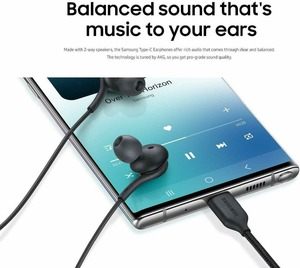 Image 3 - samsung AKG Earphones IG955 Type c In ear with Mic Wire Headset for Galaxy samsung S20 note10 huawei xiaomi smartphone