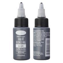 1 бутылка волос Инструменты для наращивания волос клей супер склеивание жидкий клей для плетения уток парик Наращивание волос Профессиональный салон
