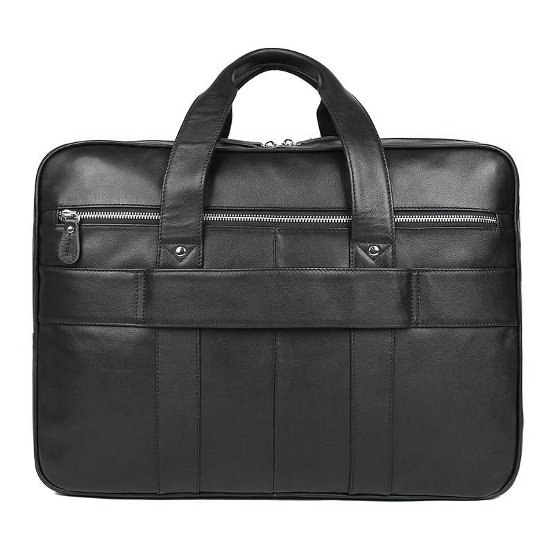 MAHEU haute qualité porte documents pour homme sur boîtier de chariot sacs à main d'affaires pour 17 pouces sac d'ordinateur noir marron nouvelle mode hommes sacs - 4
