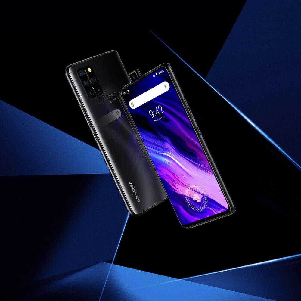 In Stock UMIDIGI S5 Pro Helio G90T Gaming Processor 6GB 256GB Smartphone FHD+ AMOLED In-screen Fingerprint Pop-up Selfie Camera 5