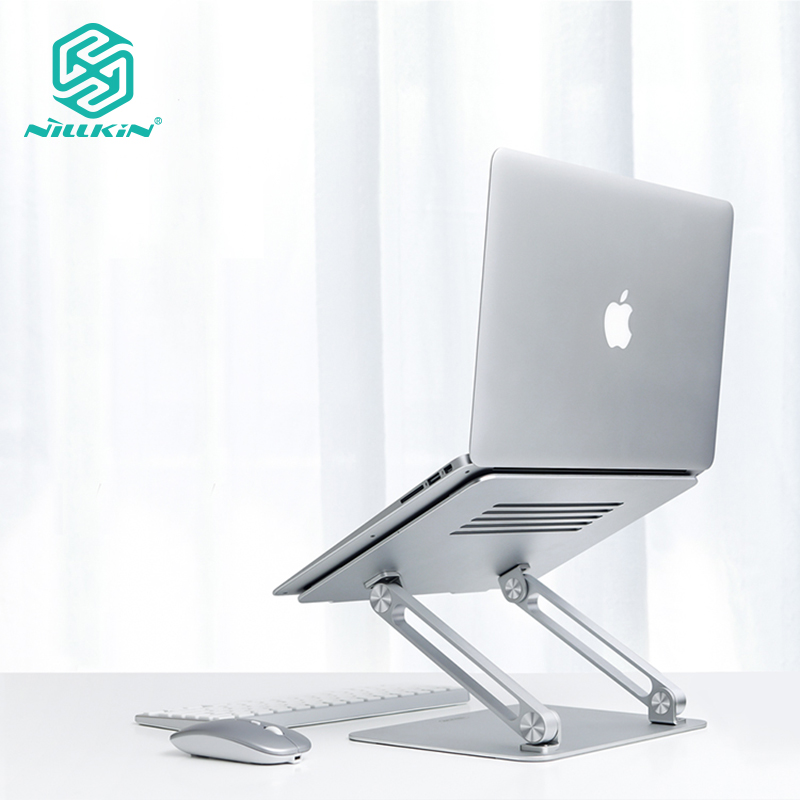 Nillkin ProDesk adjustable laptop stand, compatible with up to 17 inch laptop biaxial hollow cooling stand