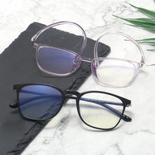 11759 оправа анти синие линзы мужские и женские очки модный