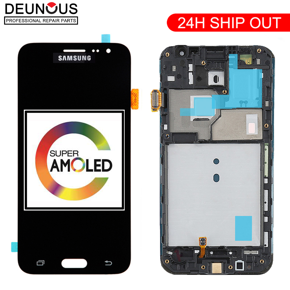 ORIGINAL Super AMOLED <font><b>LCD</b></font> Display Für Samsung Galaxy J3 2016 <font><b>J320</b></font> J320A J320F J320P J320M J320Y J320FN Bildschirm <font><b>Touch</b></font> Digitizer image