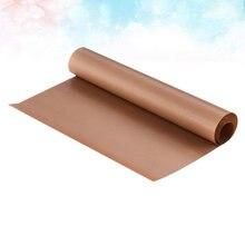 5 pçs engrossar cozimento oilcloth alta temperatura oilcloth forno bandeja de cozimento especial pano antiaderente bolo cozimento pano eco-amigável b