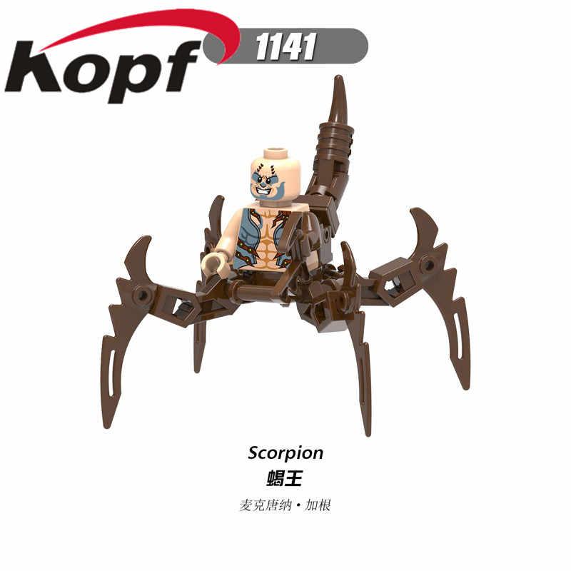 מכירה אחת בניין סופר גיבורי האולטימטיבי ספיידרמן הגובלין הירוק עכביש-גוון דמויות לילדים צעצועי X0241