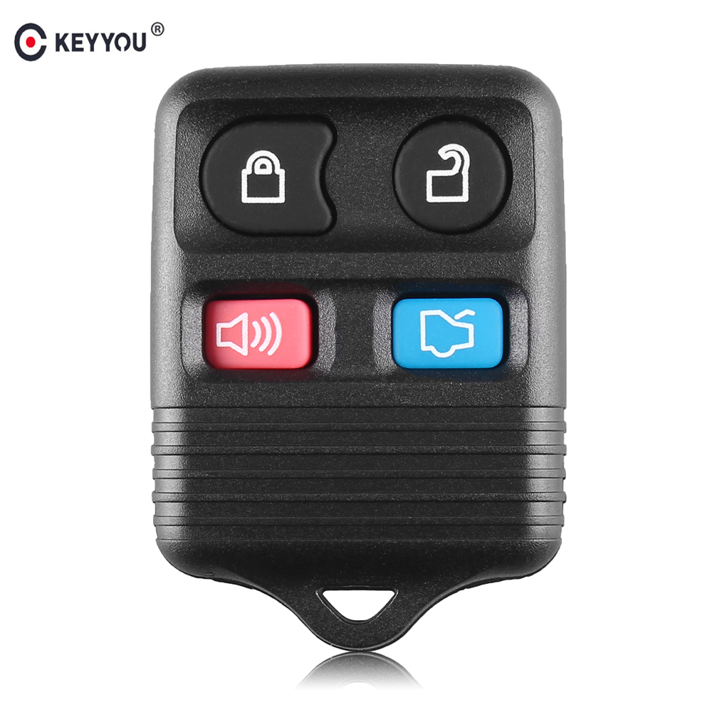 KEYYOU 315MHz 4 Buttons Replacement <font><b>Remote</b></font> Control <font><b>Key</b></font> <font><b>for</b></font> <font><b>Ford</b></font> <font><b>Focus</b></font> Complete Escape Mustang Thunderbird Lincoln Town image