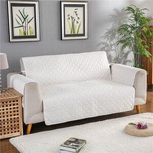 Image 3 - Wodoodporna narzuta na sofę wymienny Pet Dog Kid Mat fotel pokrowiec na meble zmywalny podłokietnik poszewki na kanapę pokrowce 1/2/3 Seat