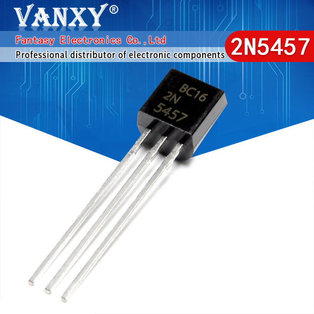 10 Uds. 2N5457 TO 92 5457 TO92 Transistor