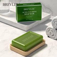 BREYLEE leczenie trądziku mydło ręcznie usuwanie trądziku mydło wyczyść blizny potrądzikowe kontrola oleju głębokie oczyszczanie zmniejszanie porów trądzik poprawa stanu skóry